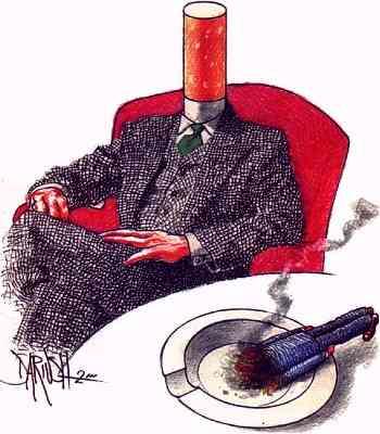 Come si libererà da passione di fumo
