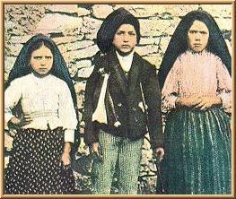 Lucia,  Giacinta e Francesco